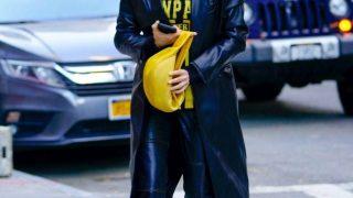 У тренчі з екошкіри від українського бренду GASANOVA: Ірина Шейк на прогулянці в Нью-Йорку з дочкою Леєю-320x180