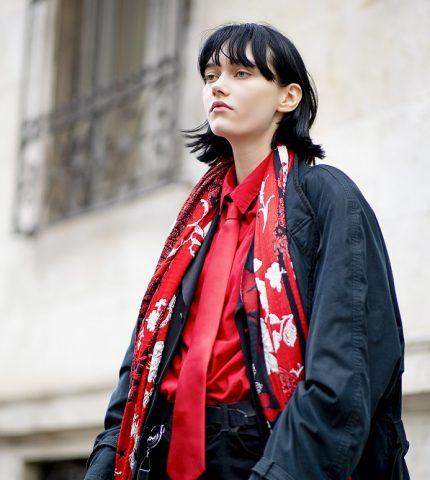 Стильный момент: Главныеstreetstyle-тренды на Неделе моды в Милане зимы 2021-430x480
