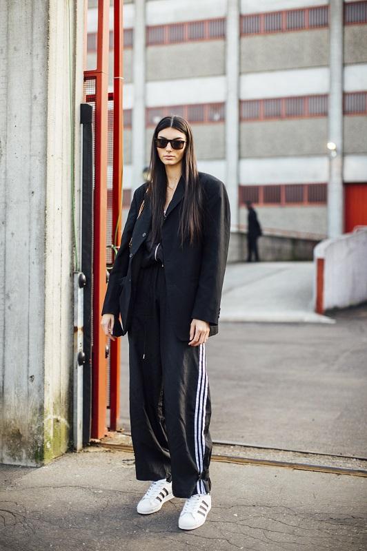 Стильный момент: Главныеstreetstyle-тренды на Неделе моды в Милане зимы 2021-Фото 6