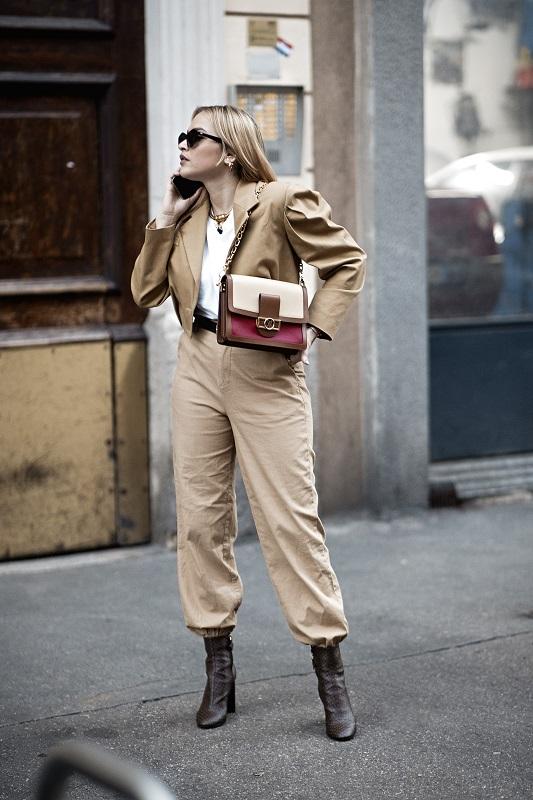 Стильный момент: Главныеstreetstyle-тренды на Неделе моды в Милане зимы 2021-Фото 8