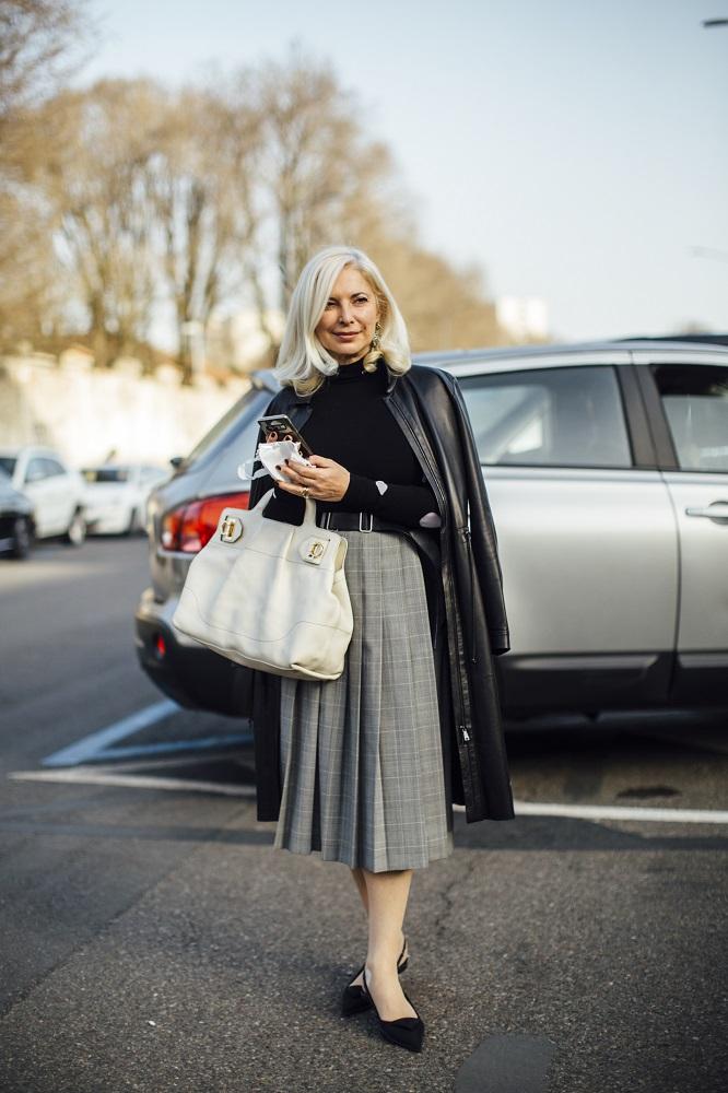 """Текущие планы: 17 актуальныхstreetstyle-образов Недель моды """"осень-зима"""" 2021-Фото 3"""