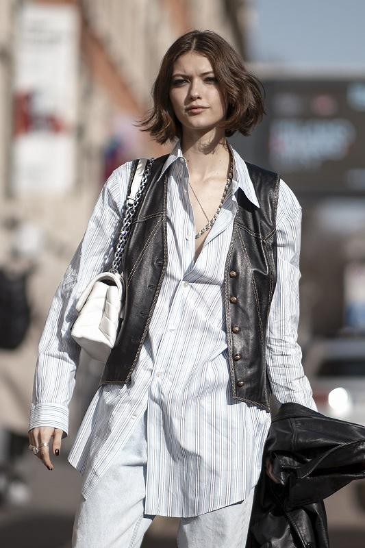 Стильный момент: Главныеstreetstyle-тренды на Неделе моды в Милане зимы 2021-Фото 9