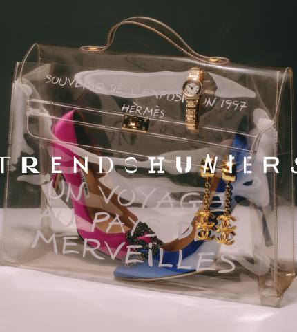 Первый онлайн-маркетплейс сегмента «люкс» — Marie Claire x TRENDS HUNTERS-430x480