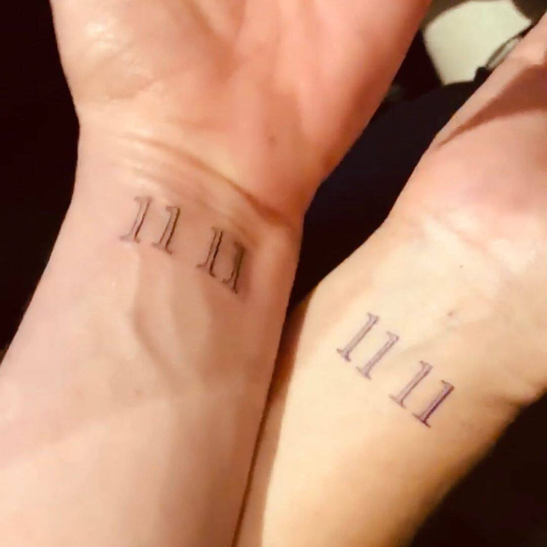 """Jennifer Aniston explained the meaning of the """"11 11"""" tattoo on her wrist - Photo 2"""