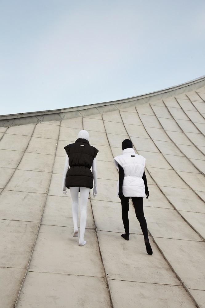 NEBESITE презентували новий весняний кампейн, знятий на даху Будинку Меблів-Фото 4