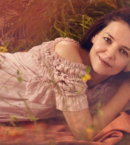 Кэти Холмс, КейтАптони другие появились на обложке журнала без макияжа-430x480