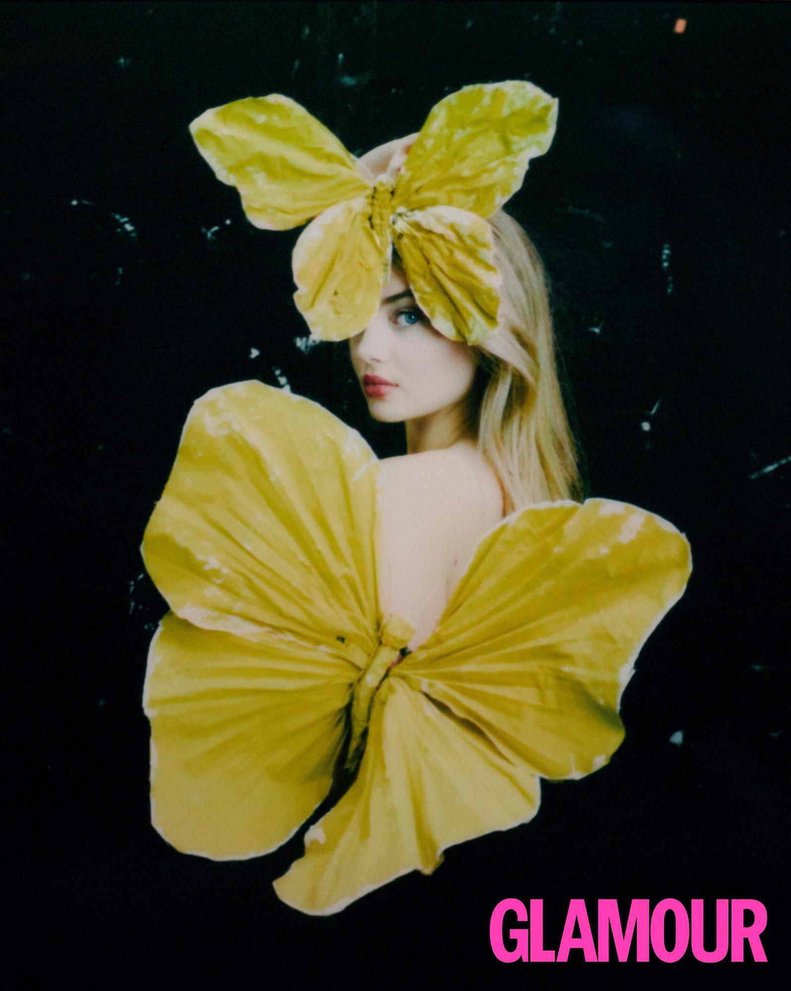 Мини-я: ДочьХайдиКлумвпервые снялась сольно для обложки журнала-Фото 2