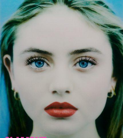 Мини-я: ДочьХайдиКлумвпервые снялась сольно для обложки журнала-430x480