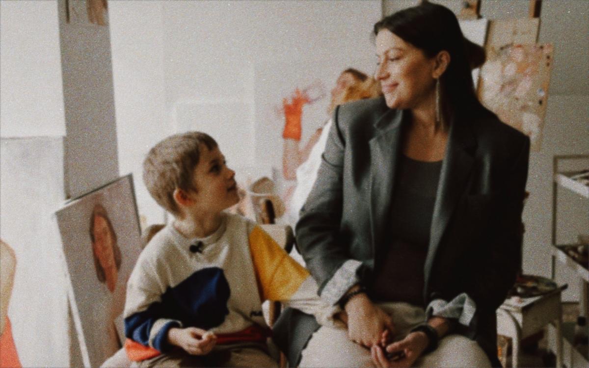 «Портрет»: Даша Кацуріна, Альона Гудкова та Ксенія Шнайдер в спецпроекті KATSURINA про красу очима дітей-Фото 5