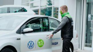 Volkswagen в Україні надає автомобілі для боротьби з голодом, та закликає до відповідального споживання-320x180