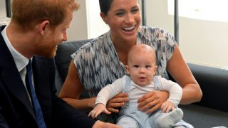 Принц Гарри рассказал, каким было одно из первых слов, сказанных его сыном Арчи-320x180