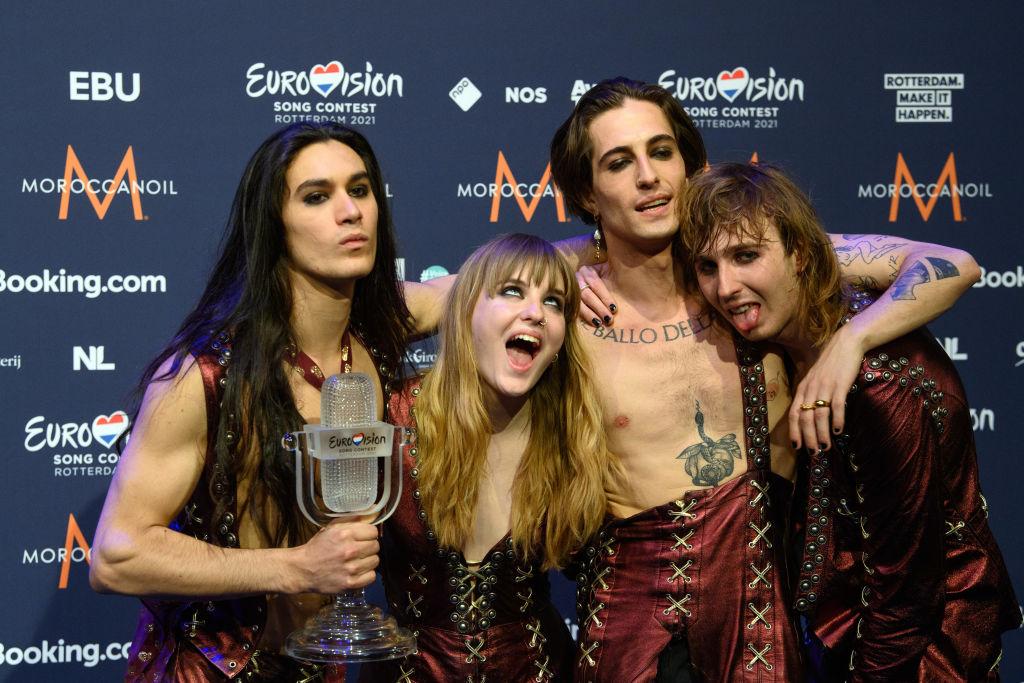 Победители Евровидения-2021 группаManeskinпройдут тест на наркотики-Фото 1