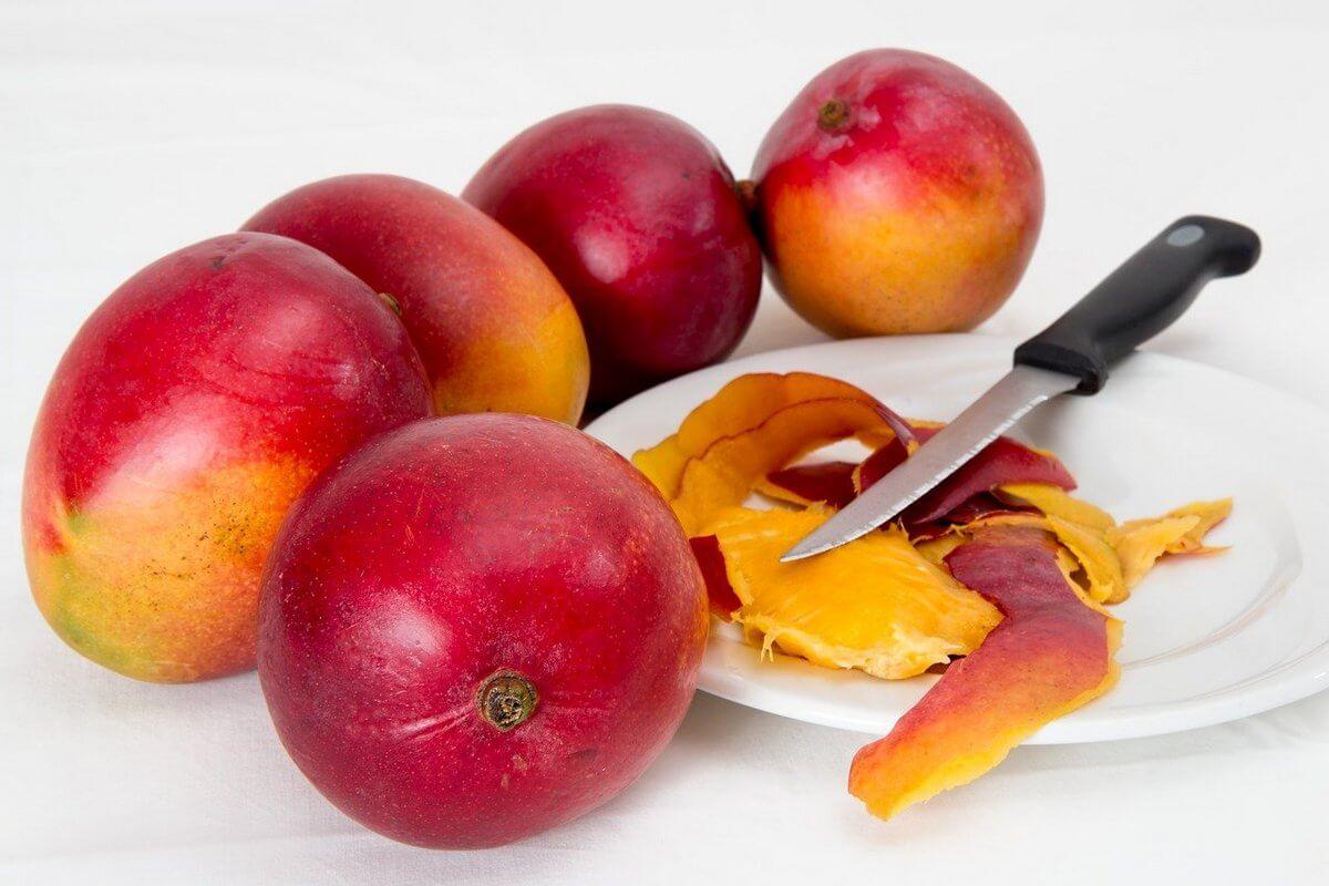 спелый манго как выбрать