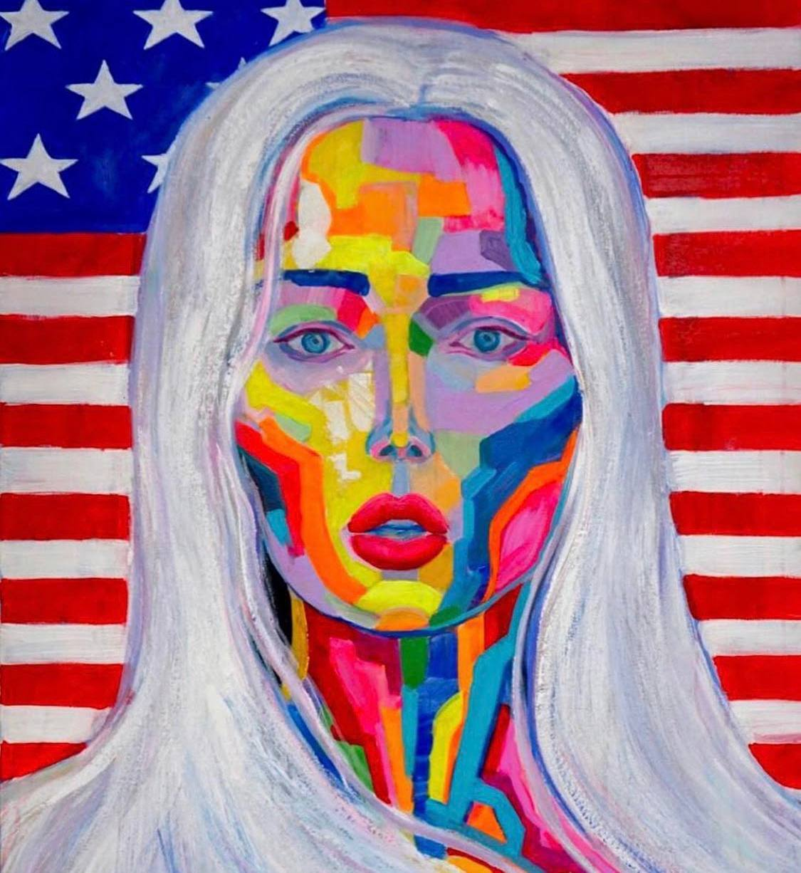 Знаменитая художница украинского происхождения Анна Дианова покоряет мир глобальной социальной миссией своих картин-Фото 2