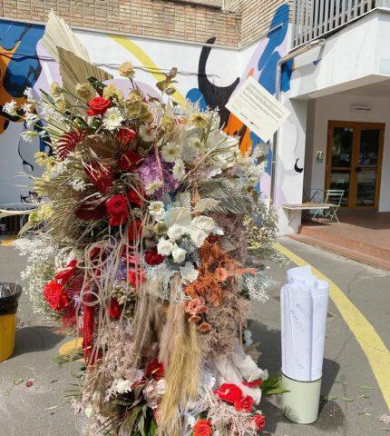 Flower perfomance: В Киеве появилась инсталляция из экзотических цветов-430x480