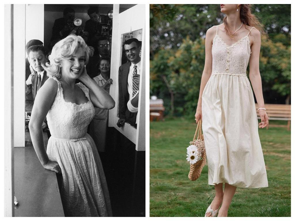 Ретро гайд: 7 любимых летних образов Мэрилин Монро и их современное прочтение-Фото 6