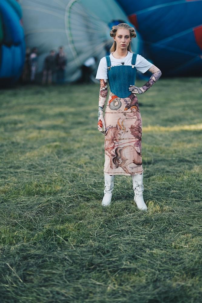 Українська Каппадокія: Жан Гріцфельдт представив fashion-колекцію на фестивалі повітряних куль-Фото 9