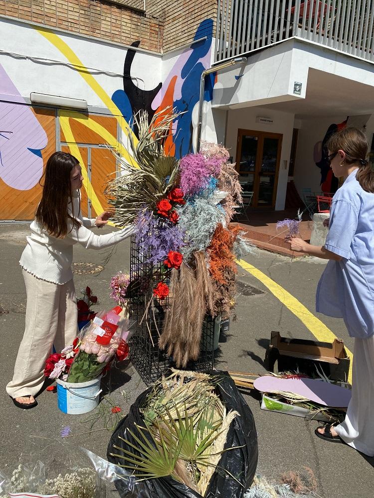 Flower perfomance: В Киеве появилась инсталляция из экзотических цветов-Фото 1
