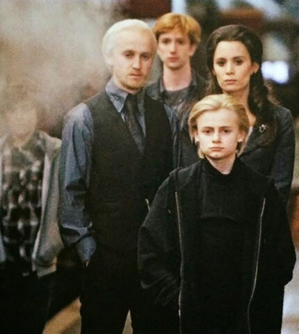 """Несколько лет спустя: Том Фелтон встретился со своим экранным сыном из """"Гарри Поттера""""-430x480"""