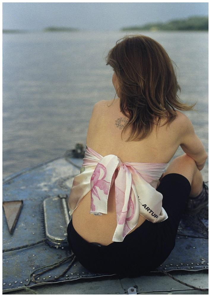 Олександра Токарева + ARTUP представляє серію хустинок із зображенням акварелей-Фото 5