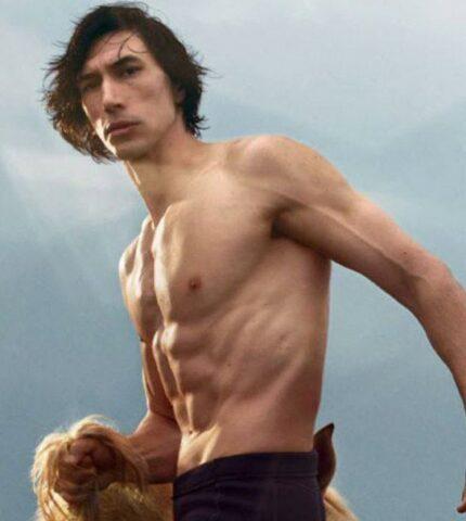 Адам Драйвер в образе кентавра появился в рекламе аромата Burberry-430x480