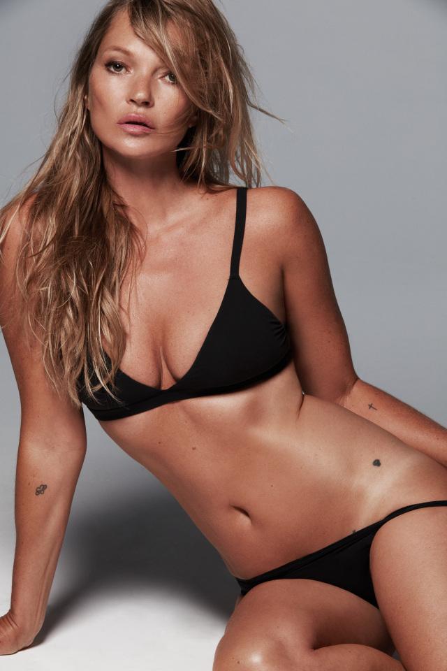 Кейт Мосс — новое лицо бренда КимКардашьянSkims-Фото 2