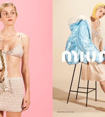Храброе сердце: Рекламная кампания MIU MIU осень-зима 2021-430x480