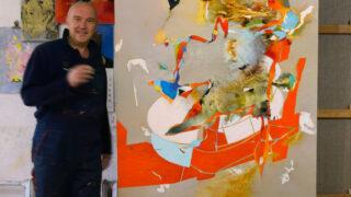 Small Talk: Петро Бевза, художник, автор проєкту «Семантичний рай. Абетка»-320x180