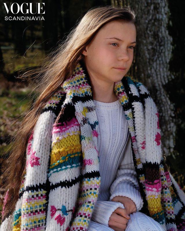 Экоактивиста Грета Тунберг стала лицом обложки первого выпуска Vogue Scandinavia-Фото 2