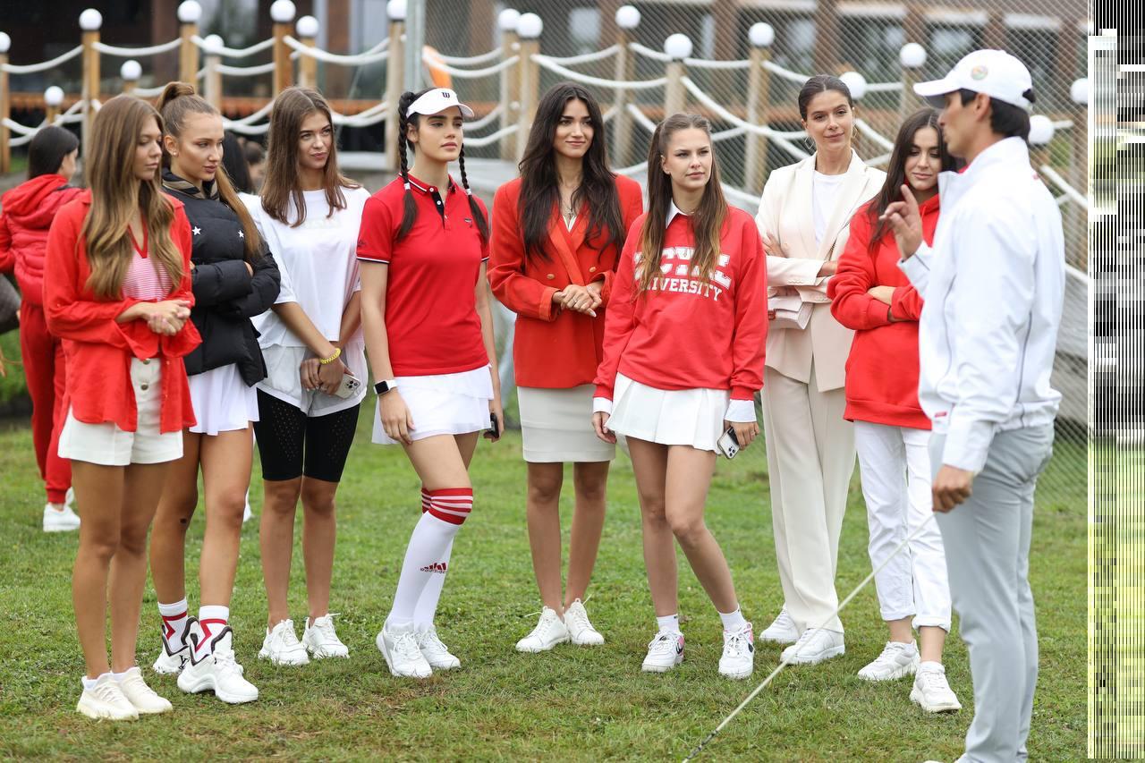 Турнир по женскому гольфу среди претенденток на титул «Мисс Украина 2021»-Фото 6
