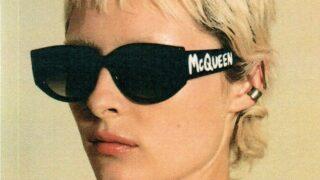 Alexander McQueen презентовал новую линейку очков Graffiti-320x180
