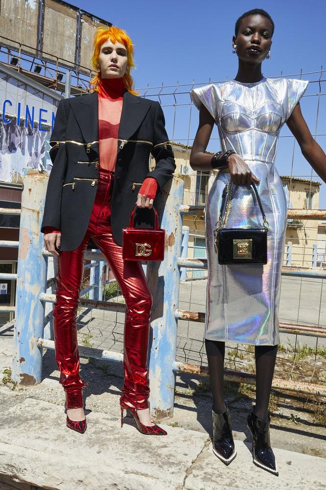 Сицилийская загадка: Рекламная кампанияDolce&GabbanaFW 2021/22-Фото 7