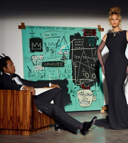 Бейонсе и Джей-Зи снялись в новом кампейне ювелирного бренда Tiffany & Co-430x480