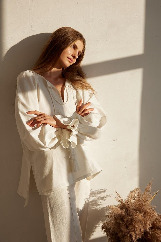 Андре Тан создал лимитированную коллекцию платьев и блуз к 30-летию Независимости Украины-Фото 6