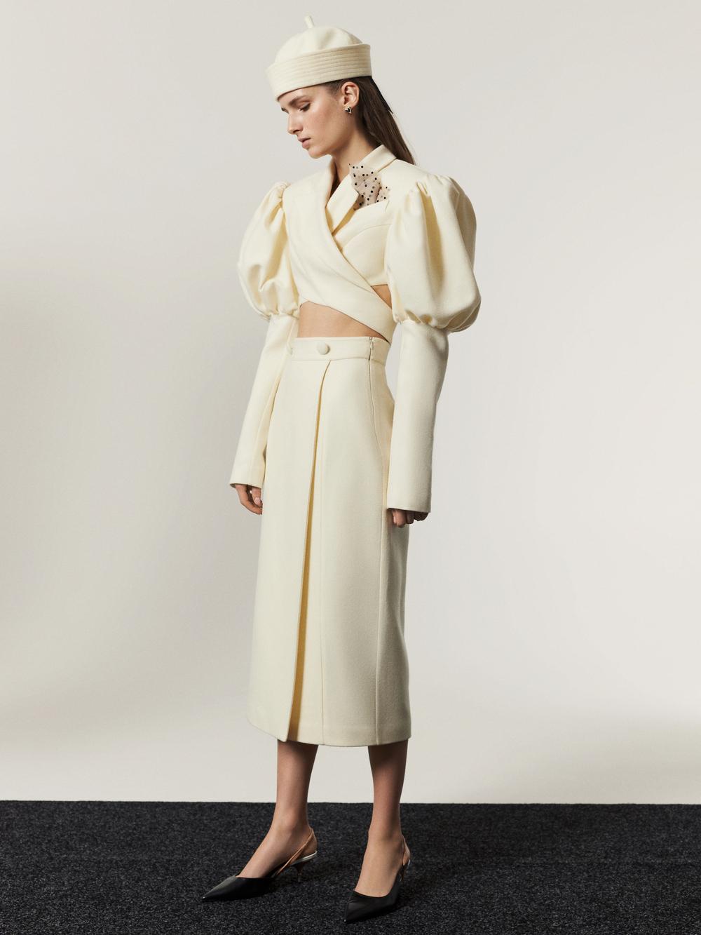 В стиле Жаклин Кеннеди: Украинский бренд Marianna Senchina презентовал коллекцию Fall-Winter 21/22-Фото 3