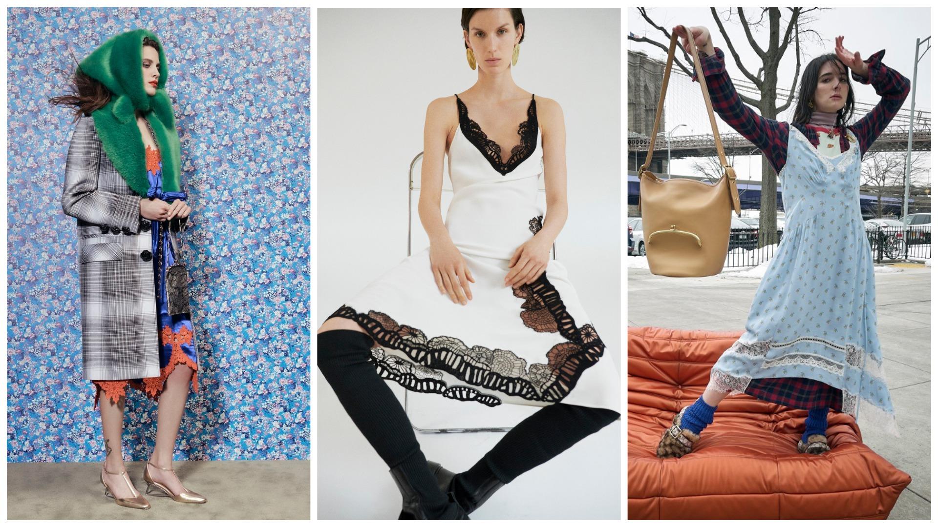 Боец невидимого фронта: Платье-комбинация – актуальный тренд осени 2021-Фото 7