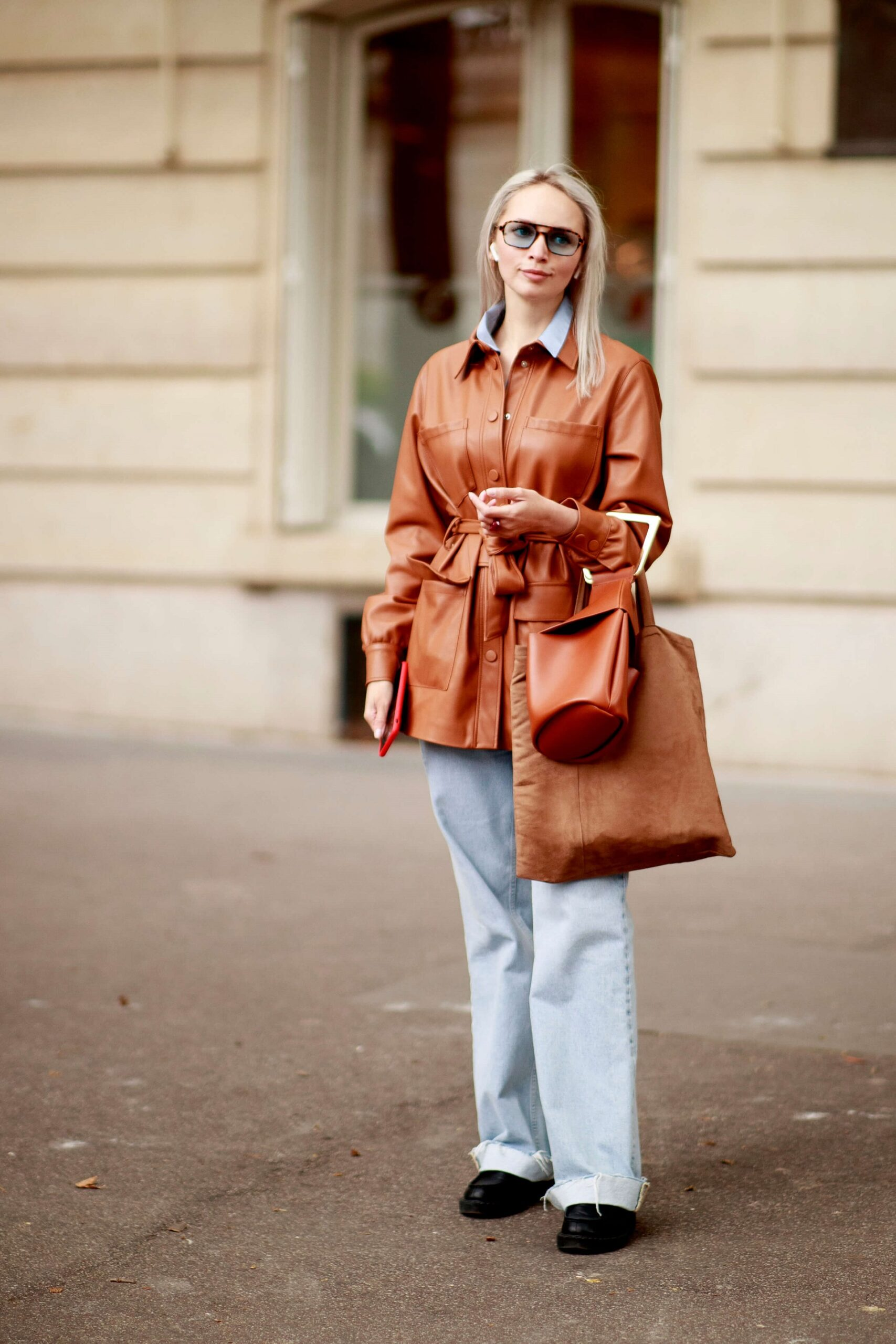 Не тренчем единым: Трендовая верхняя одежда осени 2021-Фото 5