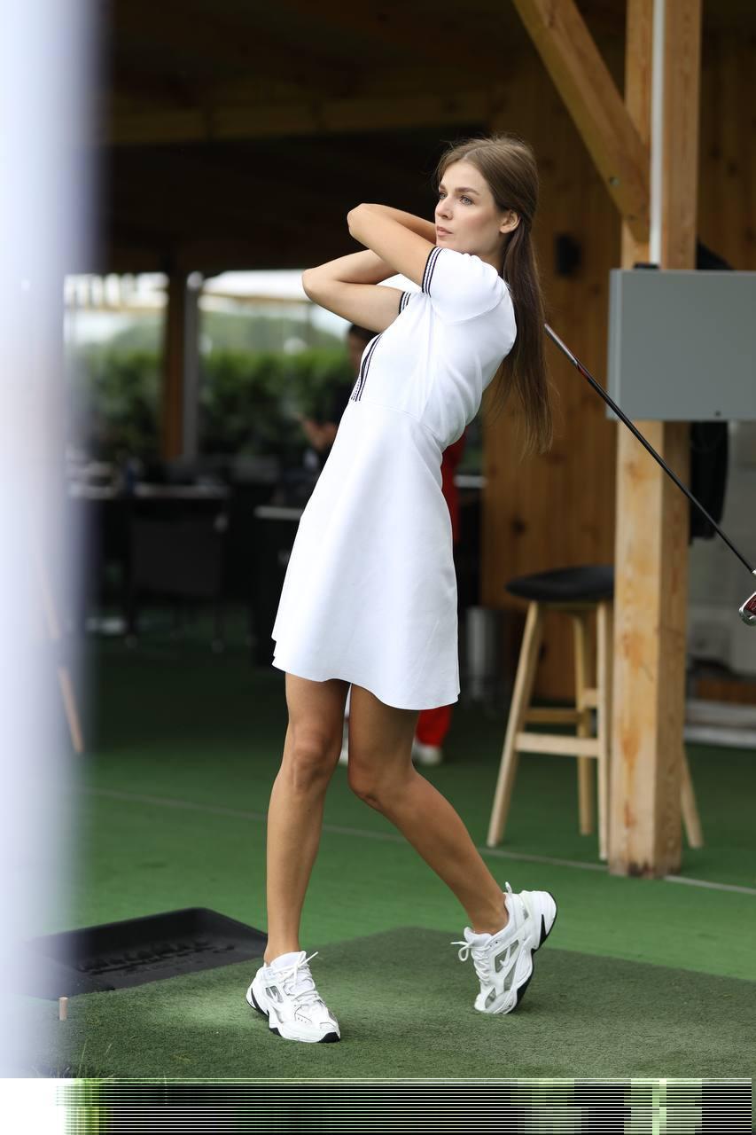 Турнир по женскому гольфу среди претенденток на титул «Мисс Украина 2021»-Фото 2