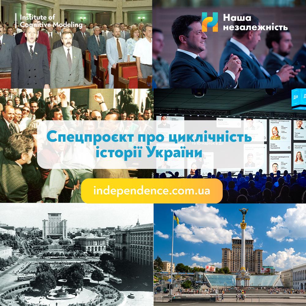 Від козацького віче до сучасного народовладдя: Інститут когнітивного моделювання запустив спецпроєкт про циклічність історії України-Фото 1