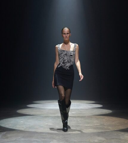 В рамках Недели моды в Нью-Йорке прошел цифровой показ украинского бренда GASANOVA-430x480