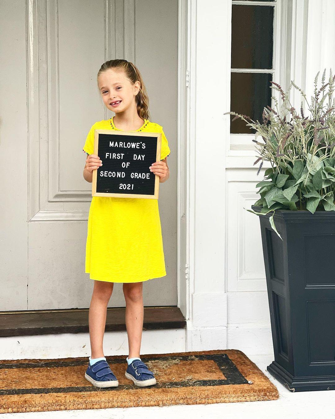 Как прошло 1 сентября для детей голливудских звезд — фотоотчет-Фото 4