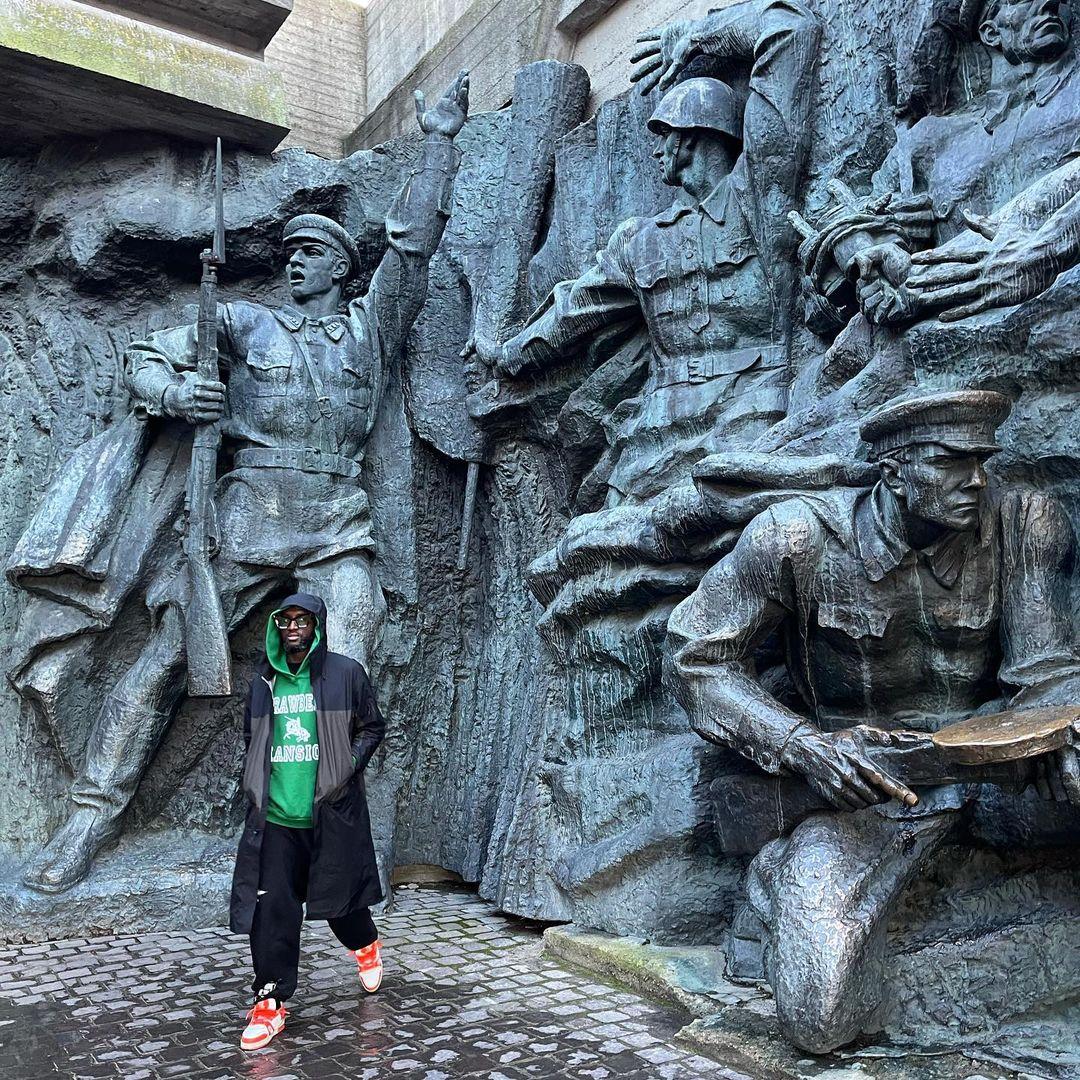 Вирджил Абло прогулялся по достопримечательностям Киева-Фото 1
