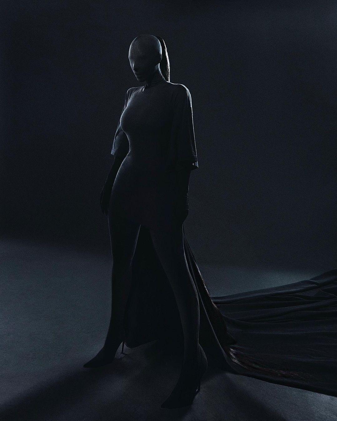 Met Gala 2021: Образ Ким Кардашьян – total-look и модная маска-Фото 2