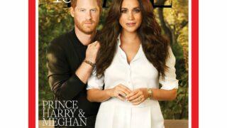 Что не так с обложкой: Принц Гарри и Меган Маркл стали лицом свежего выпуска Time-320x180