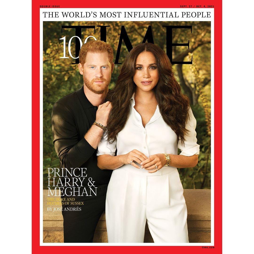 Что не так с обложкой: Принц Гарри и Меган Маркл стали лицом свежего выпуска Time-Фото 1