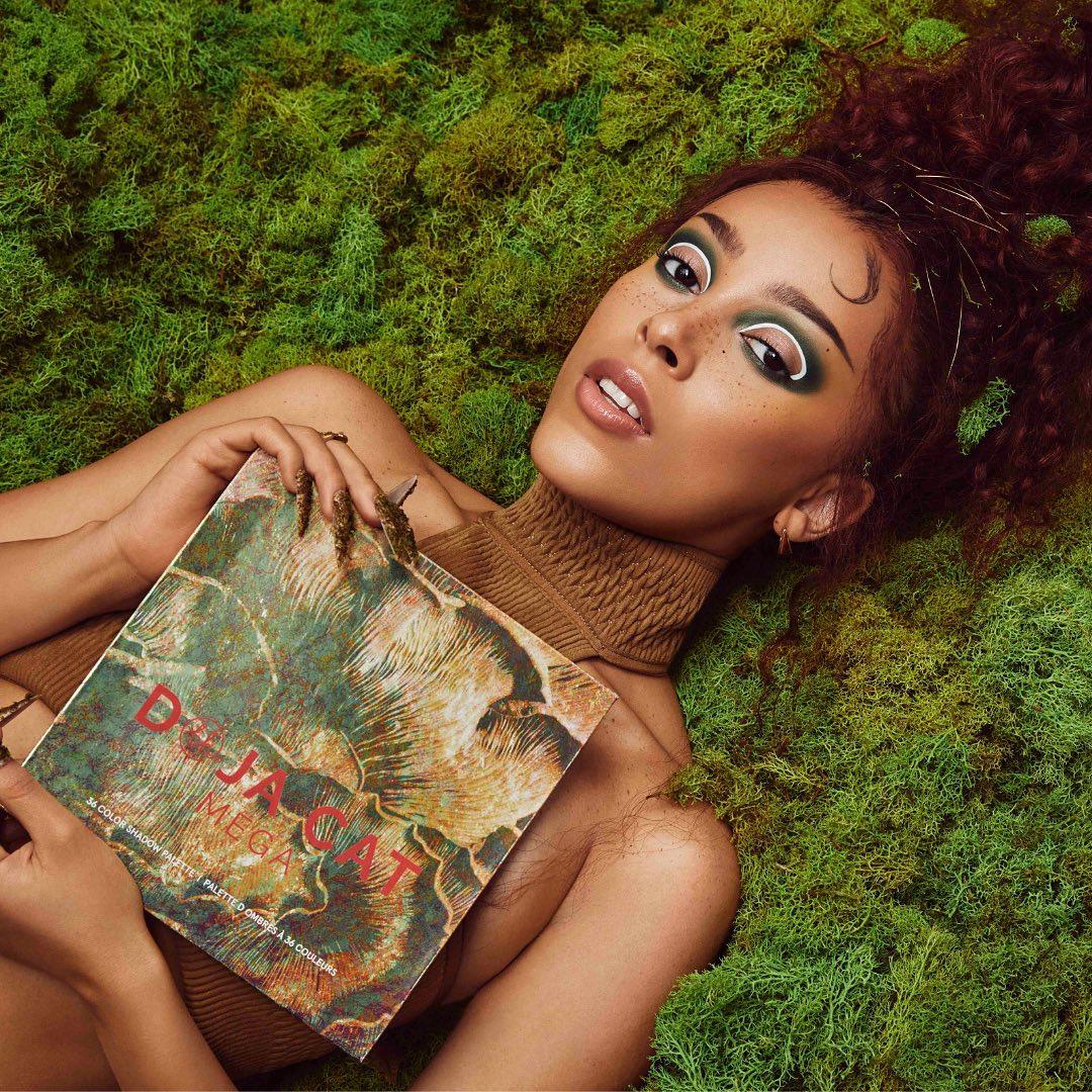 Doja Cat представила собственную линейку декоративной косметики-Фото 1