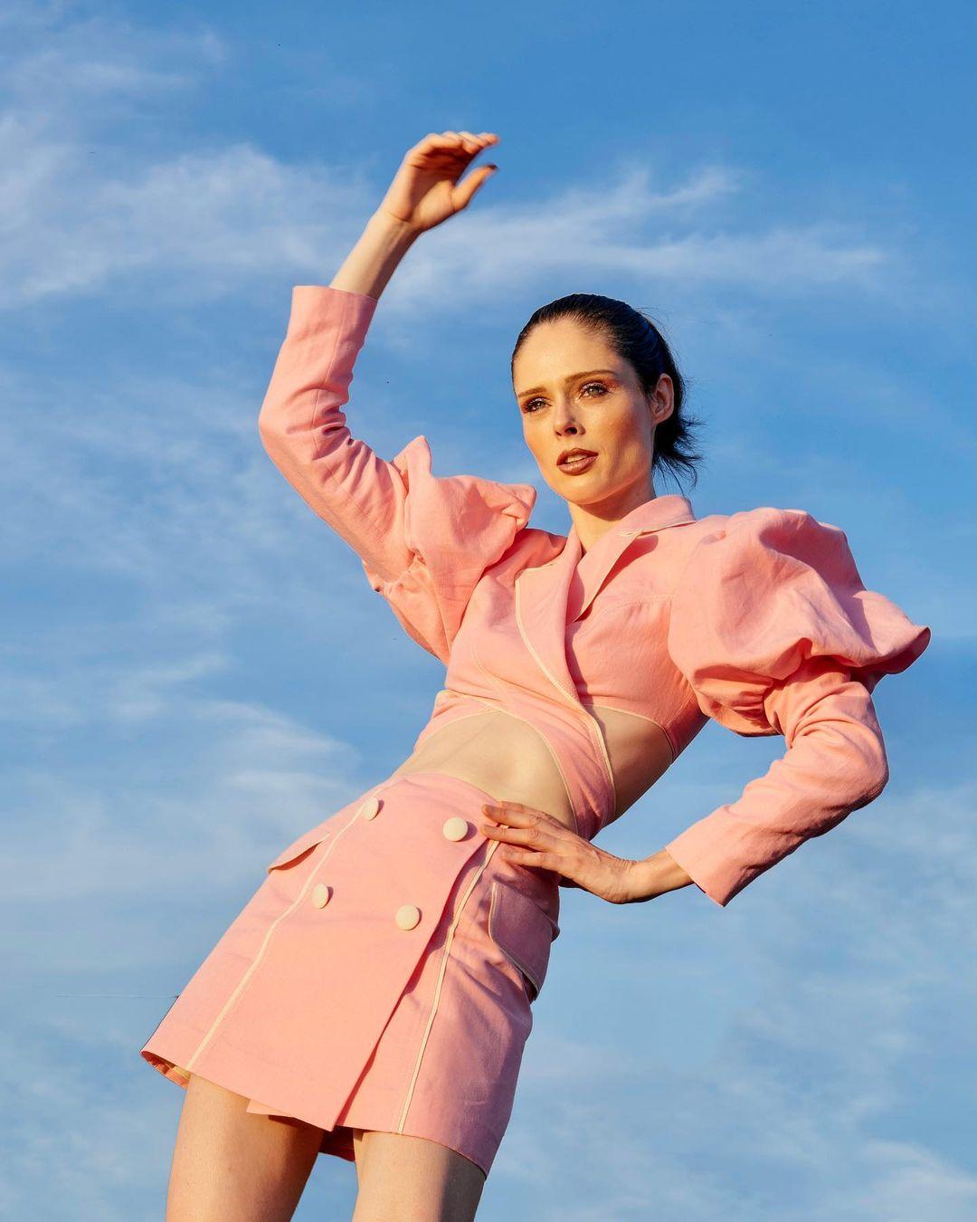 Коко Роша в костюме украинского дизайнера Marianna Senchina-Фото 3