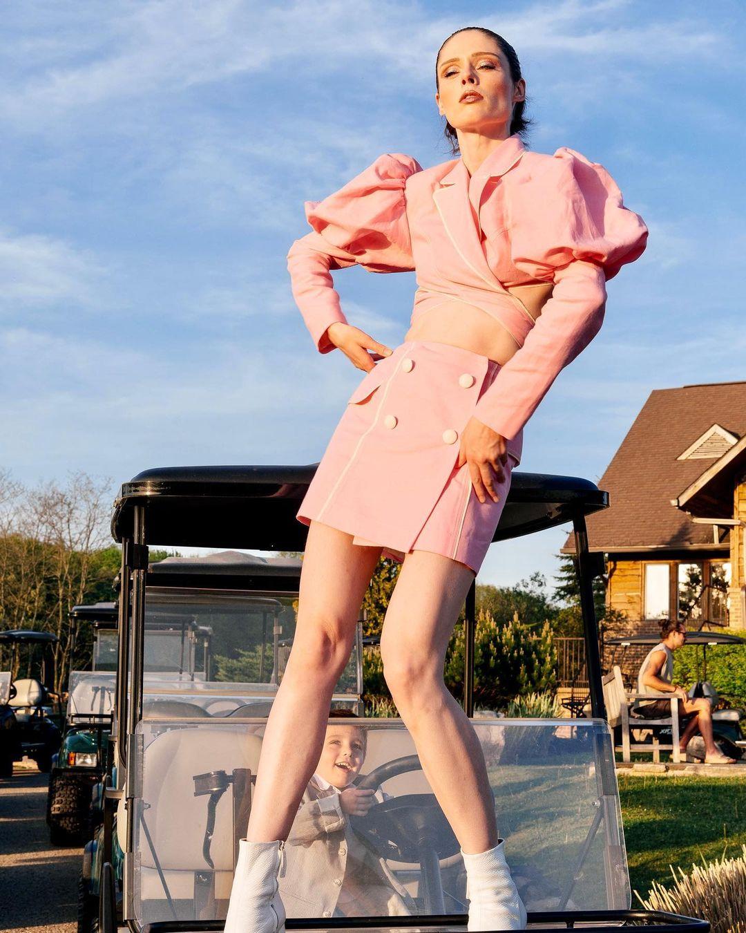 Коко Роша в костюме украинского дизайнера Marianna Senchina-Фото 2