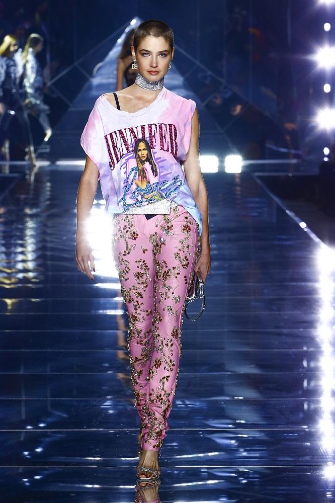 Новая весенне-летняя коллекция Dolce&Gabbana 2022 — там, где прошлое встречается с будущим-Фото 9
