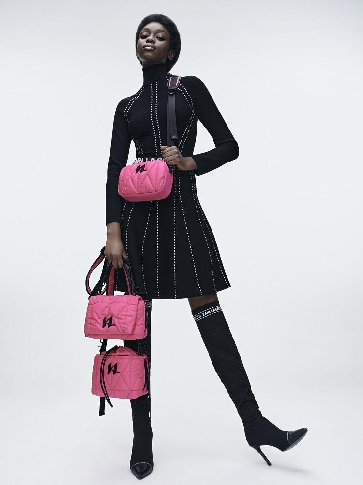 Кинематограф и мода: Новая коллекция KARL LAGERFELD осень-зима 2021-Фото 12
